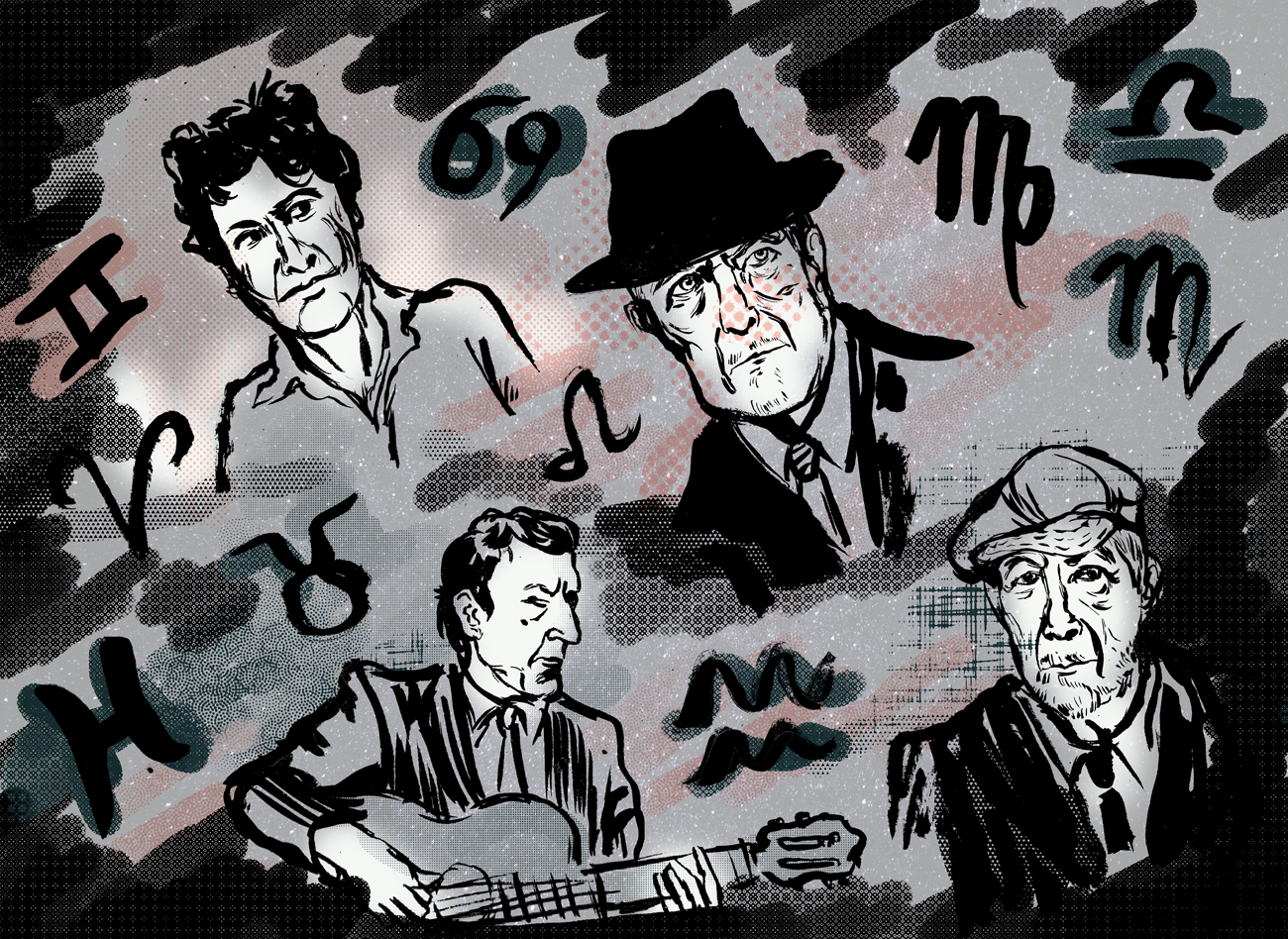 leonard cohen horoscopes