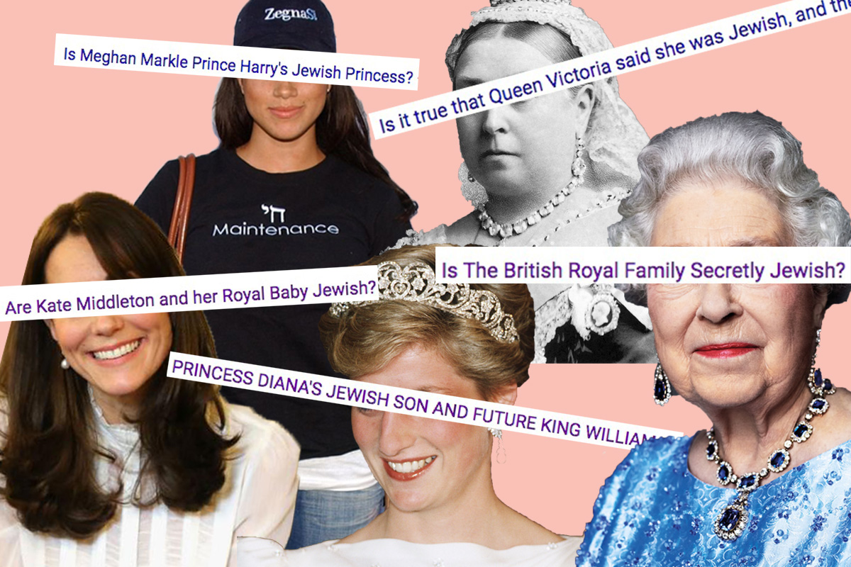 All the Jewish Conspiracies Surrounding the British Royal Family - Alma