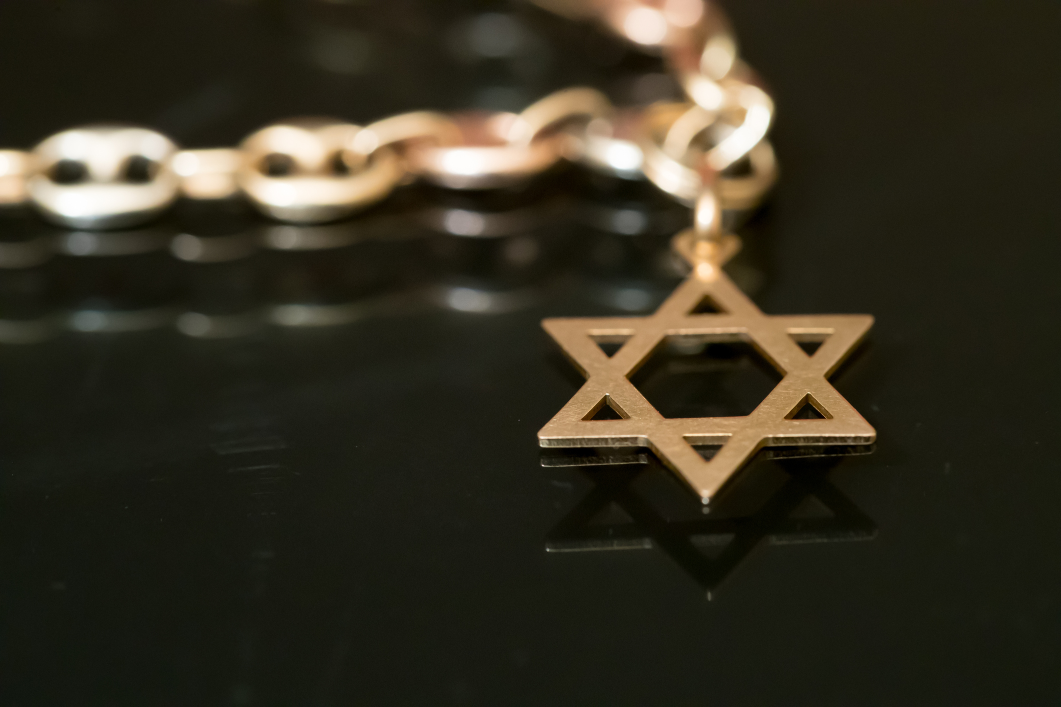 A Jewish Star of David Necklace