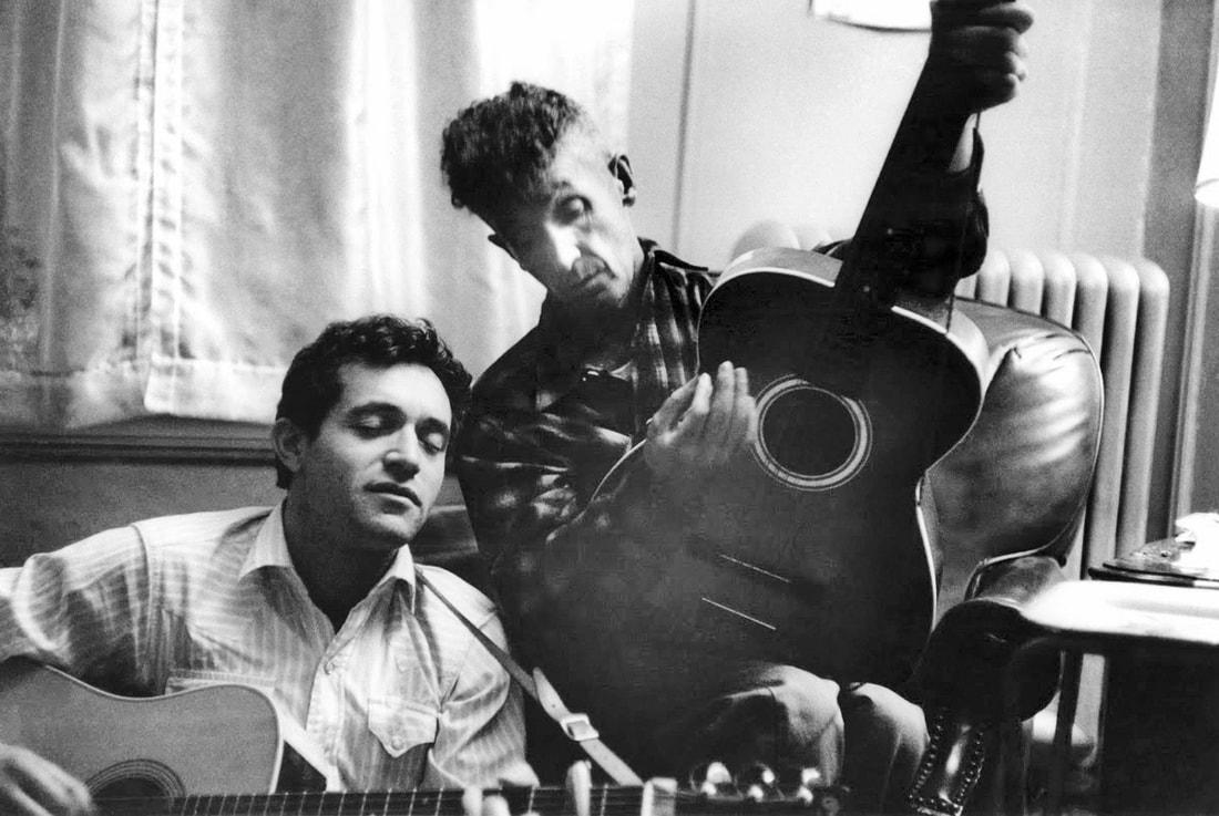 Ramblin Jack Elliott & Woody Guthrie